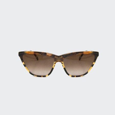 Prism Cairo Sunglasses - Amber Tortoiseshell with Cream Tortoiseshell