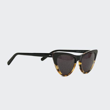 Prism St Louis Sunglasses - Dark Tortoise With Black