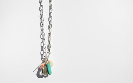 Found By Kindred Black The Wild Sea Charm Necklace