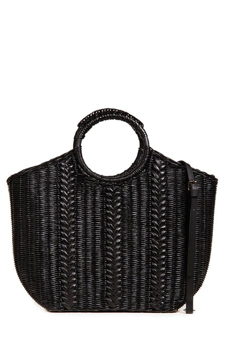 Ulla Johnson Amyris Mini Tote - Noir