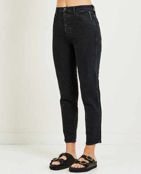 J Brand HEATHER BUTTON FLY JEAN - OVERTHROW