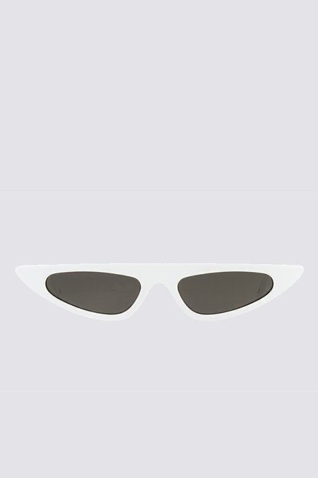 Andy Wolf Acetate Florence Sunglasses - White
