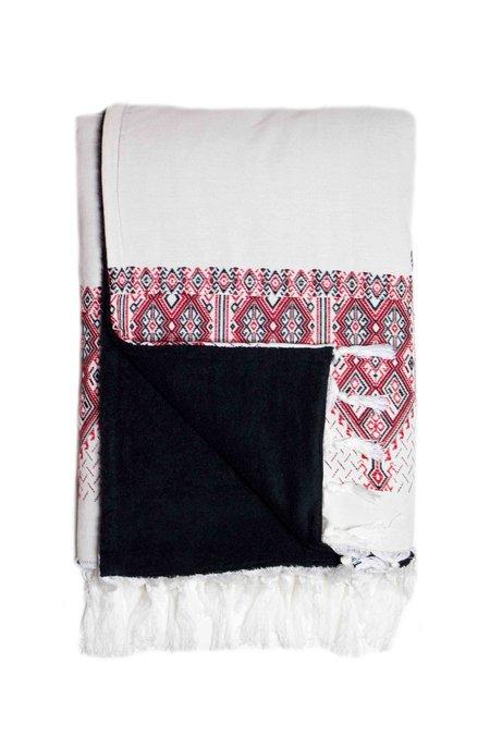 Elina Lebessi Beach Towel - Plaka Red