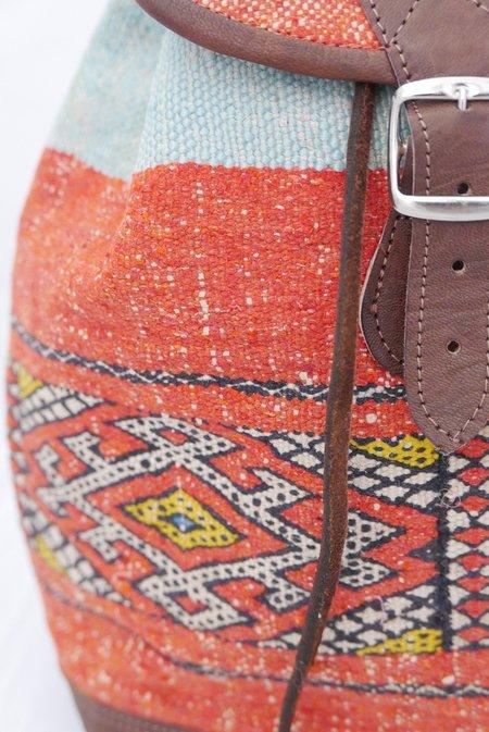 Le Souk Le Souk Berber Rug Moroccan Backpack 002