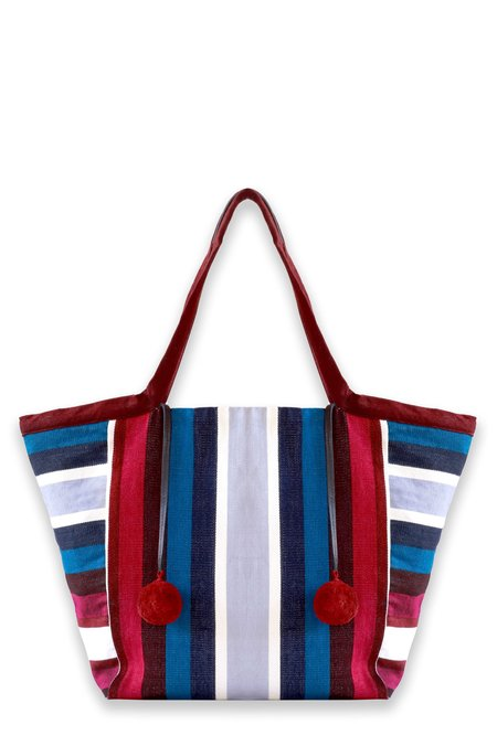 Mercado Global Rosa Tote - RUBY MULTI