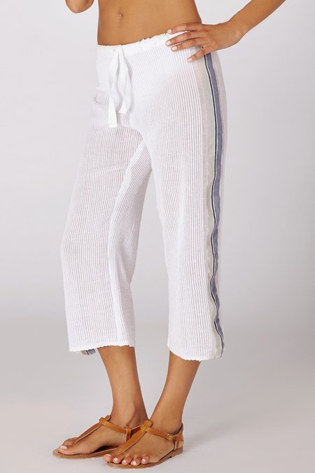 Lemlem Saali Cropped Pants - GREY