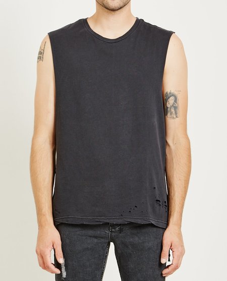 Ksubi SIOUX MUSCLE TEE - BACK TO BLACK