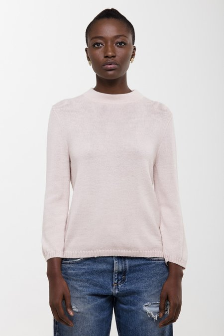 Osei-Duro Koraa Mockneck Sweater - Blush