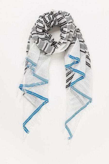 LemlemSelina Split Scarf - Blue