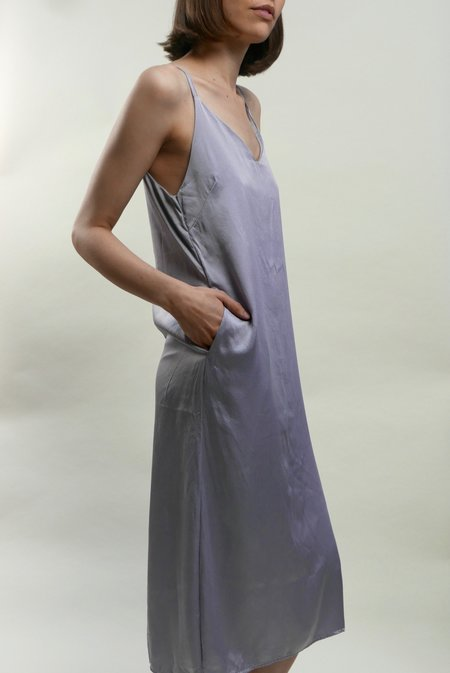 Colorant Slip Dress - Taro