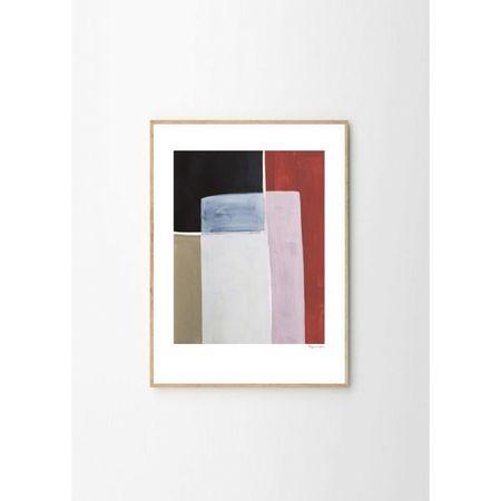 Berit Mogensen Lopez Colour Squares Art Print