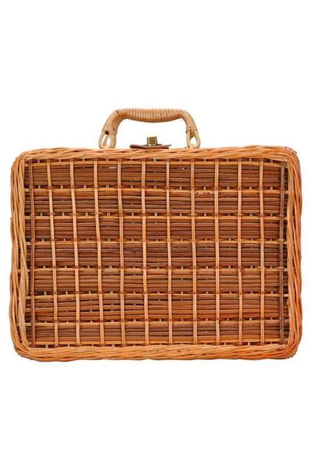 AGP Apparel Picnic Basket Bag - Natural