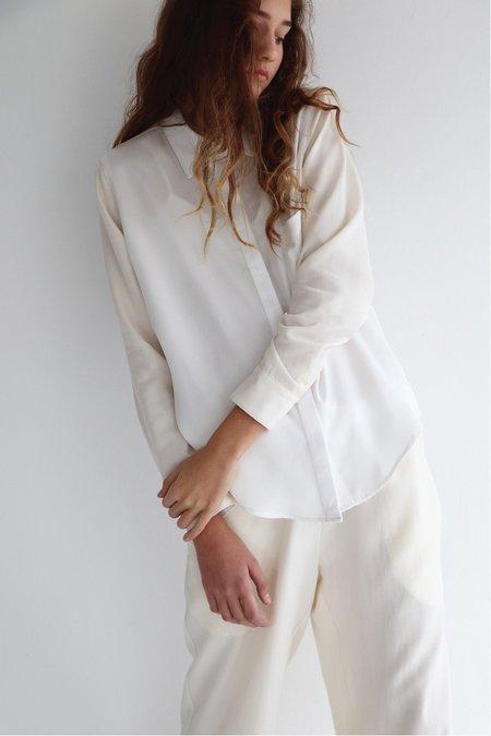 Soft Focus Palomino Lounge Pant - Cream/White