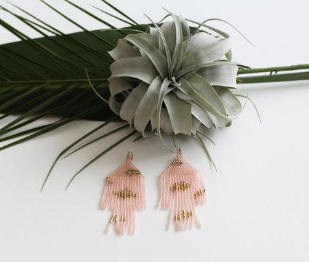 Salihah Moore Jinn Rose Earrings