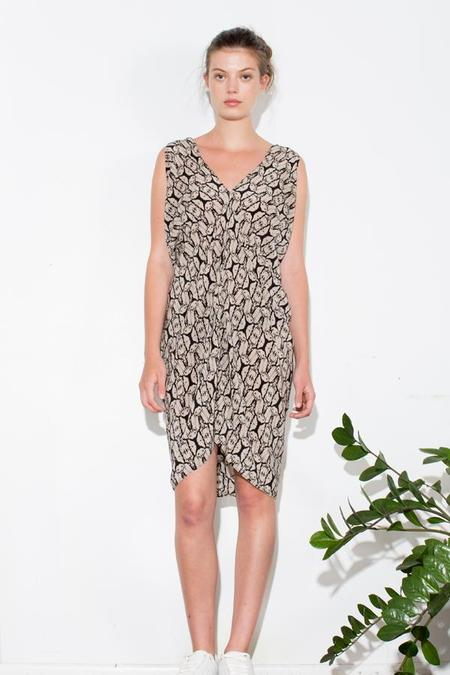H. Fredriksson STINA DRESS - SEAWEED