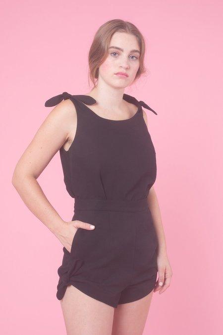Samantha Pleet Piccolo Tank - Black