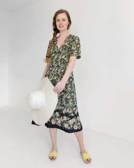 Kaleidos Vintage Leslie Fay Floral Dress