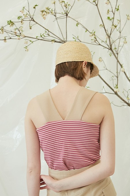 ANOTHER A STRIPE V Sleeveless Top