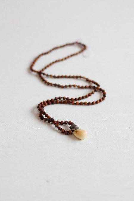 Kakoon #9 Sandalwood necklace