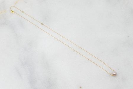 Eye M by Ileana Makri Pearl Planet Necklace