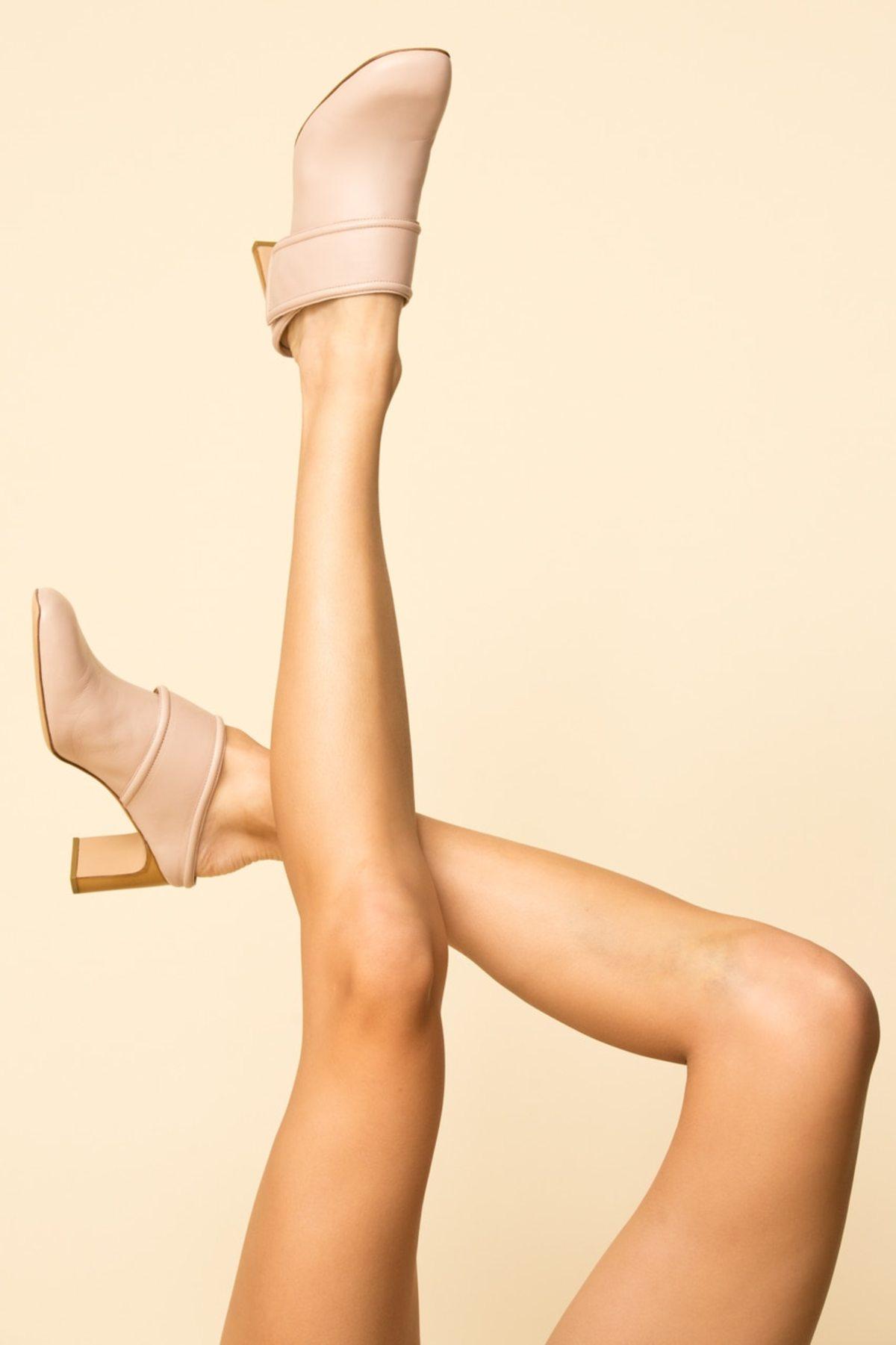 ecc9f78d3c3a5 Rag & Bone Elliott Mid Heel Mule - nude   Garmentory