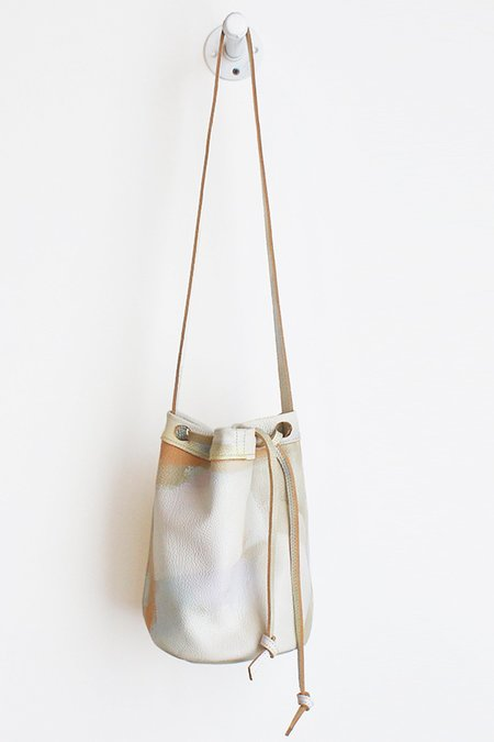 Shannon South Painted Franklin Bucket Bag