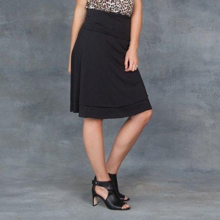 Skin Matisse A-Line Skirt - Black