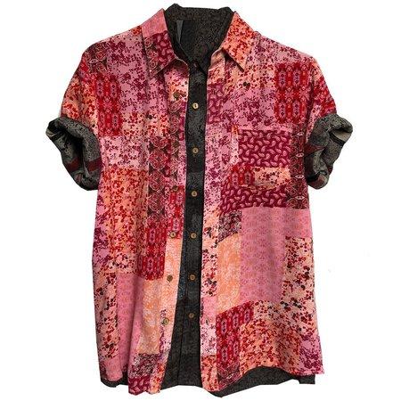RAGA MAN Rorschach Shirt - RED