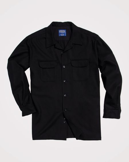 Pendleton Board Shirt - Black Flannel