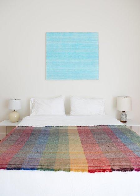 Travis Meinolf Small Handwoven Blanket #2