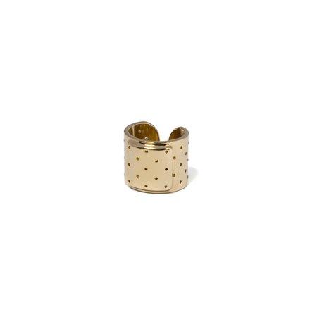 Schield Plaster Ring - gold
