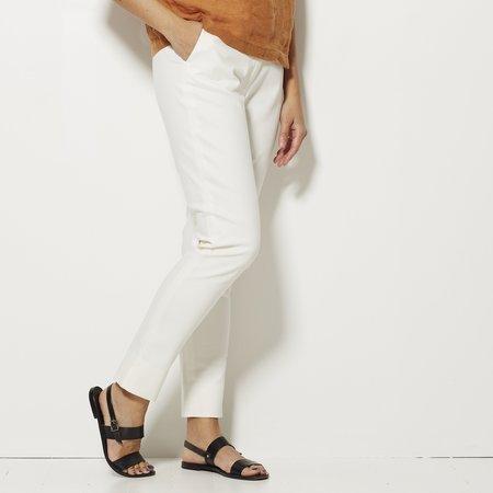 Apiece Apart Camilla High Waisted Pant - White