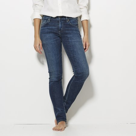 Citizens of Humanity Arielle Slim Mid Rise Jeans - Echo Lake