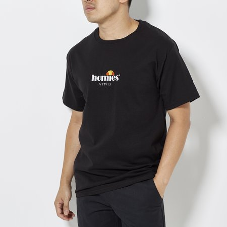 For the Homies Homies Italia Tee - Black