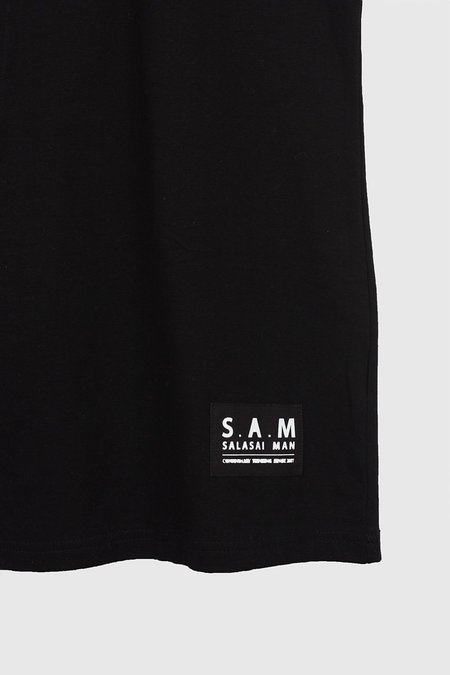 S.A.M Damned RD Singlet - Black