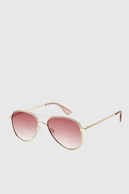 Le Specs Empire - Rose Gold/Rose Grad