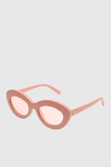 Le Specs Fluxus Eyewear - Matte Ginger/Apricot Tint
