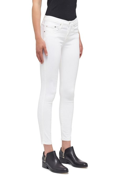 Nobody Denim Geo Skinny Ankle Jean - Power White