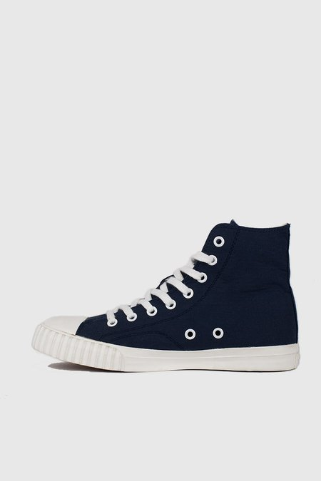 BATA BULLETS High Cut - Navy/Cream