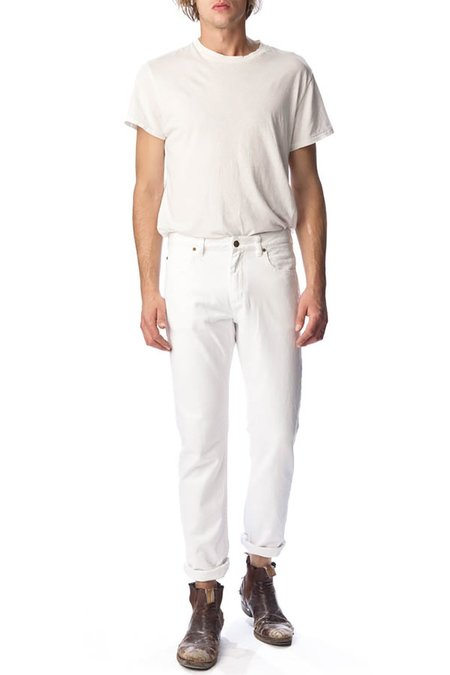 Rollas Norm Reg Fit - White Current