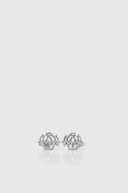Meadowlark Peony Stud Earrings