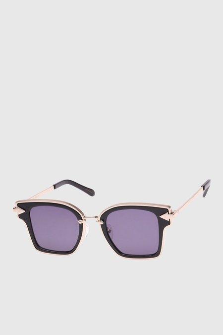 Karen Walker Eyewear Rebellion sunglasses - Black