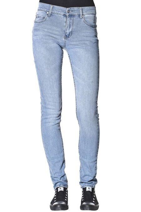 Cheap Monday Tight Jeans - Stonewash Blue