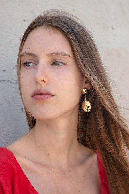 Quarry Qadune Earrings - Brass