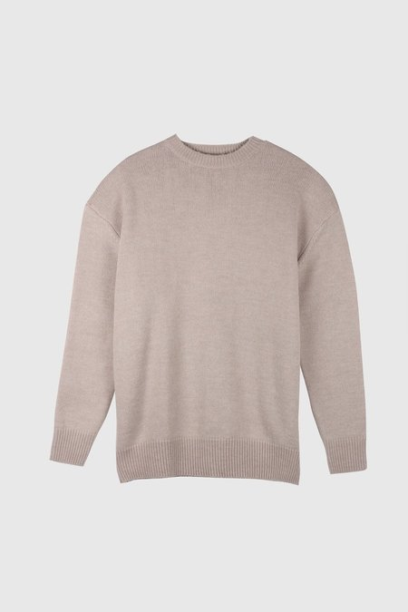 Assembly Oversized Knit Sweater - Flax
