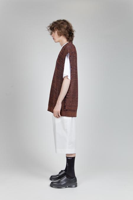 Jil Sander Knitted Vest - Brown