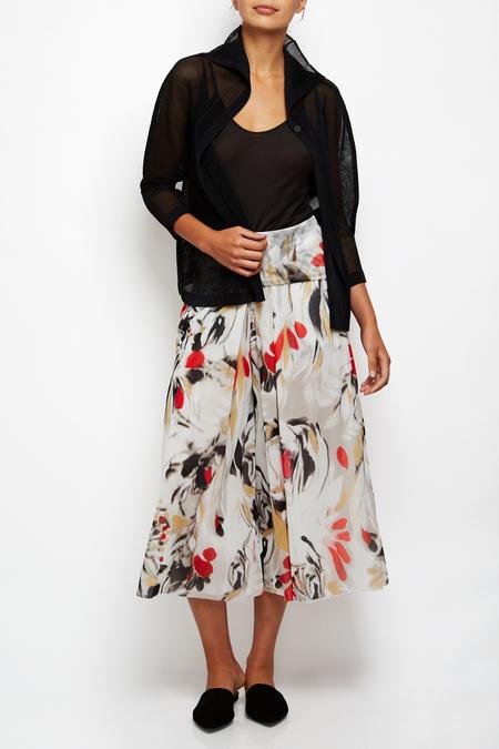 Fuzzi culotte pants - floral print