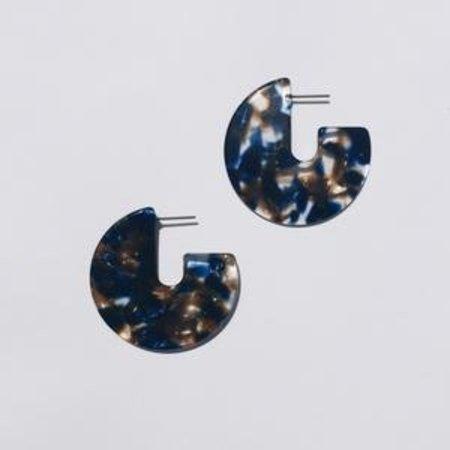 Sundara Mar Kat Earrings - Pacific