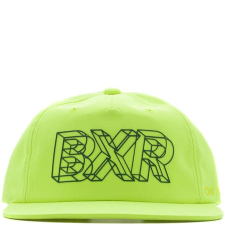 Born x Raised Wireframe Nylon Hat - Neon Green