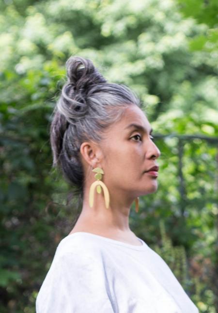 Sunday Feel Wishbone Earrings